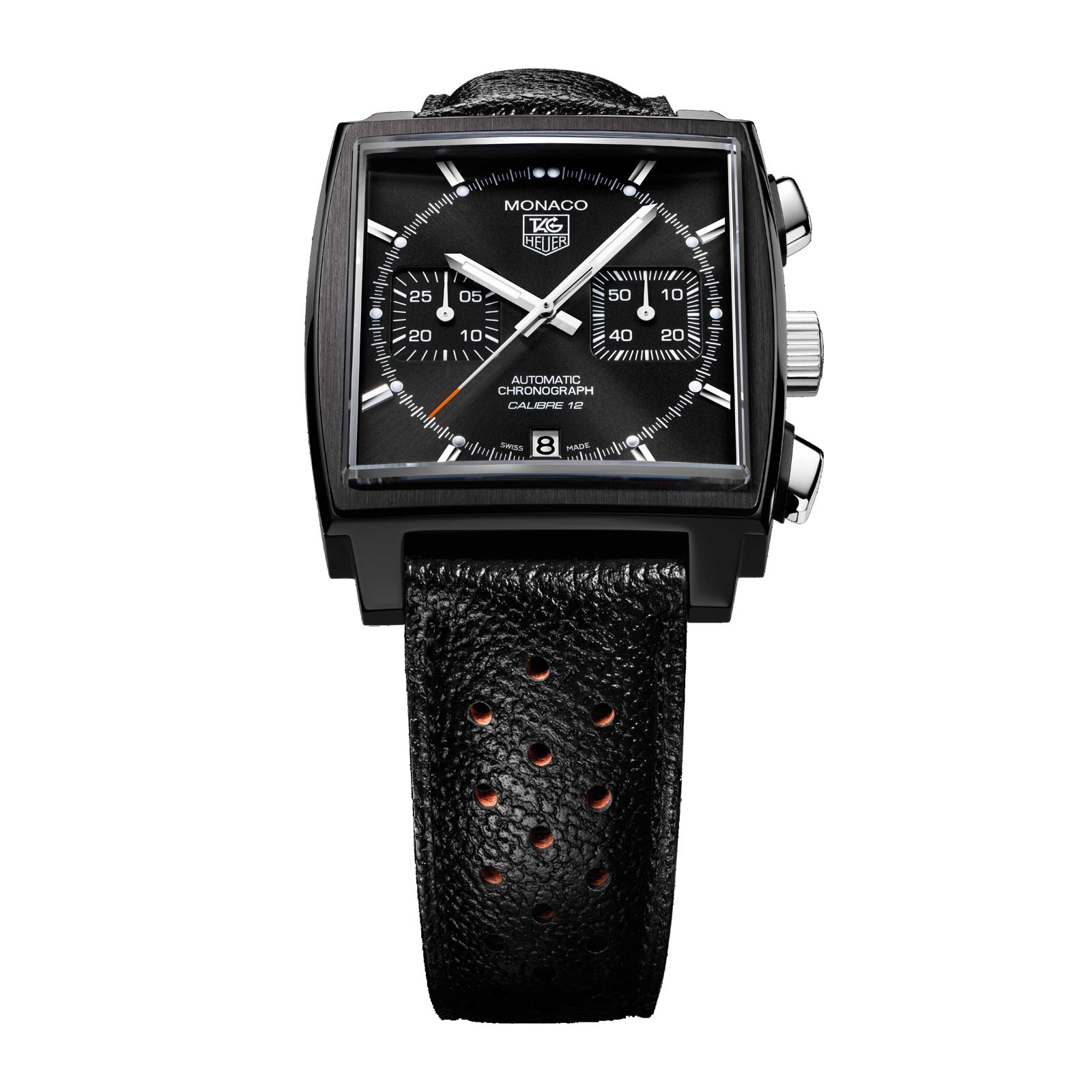 tag heuer monaco acm cronografo automatic caliber 12. Black Bedroom Furniture Sets. Home Design Ideas